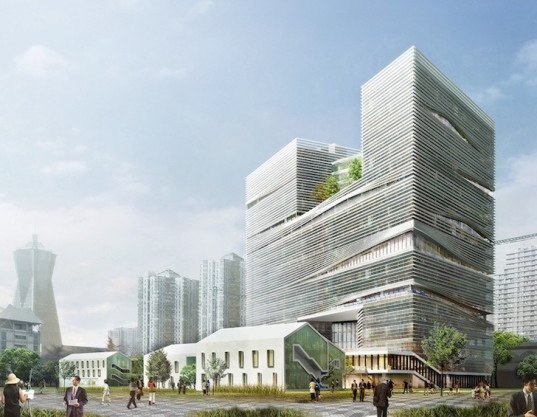 Lycs architecture unveils nature filled urban high rise in for Architectural design review