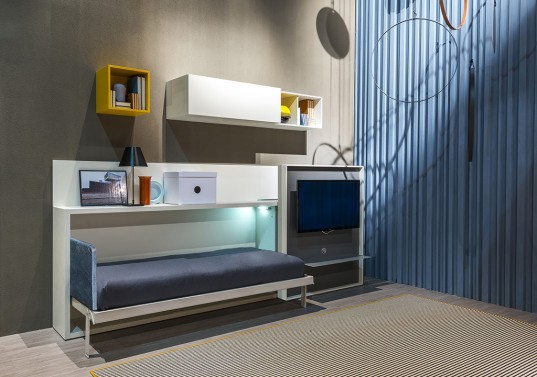 Resource Furniture, Wall Bed,