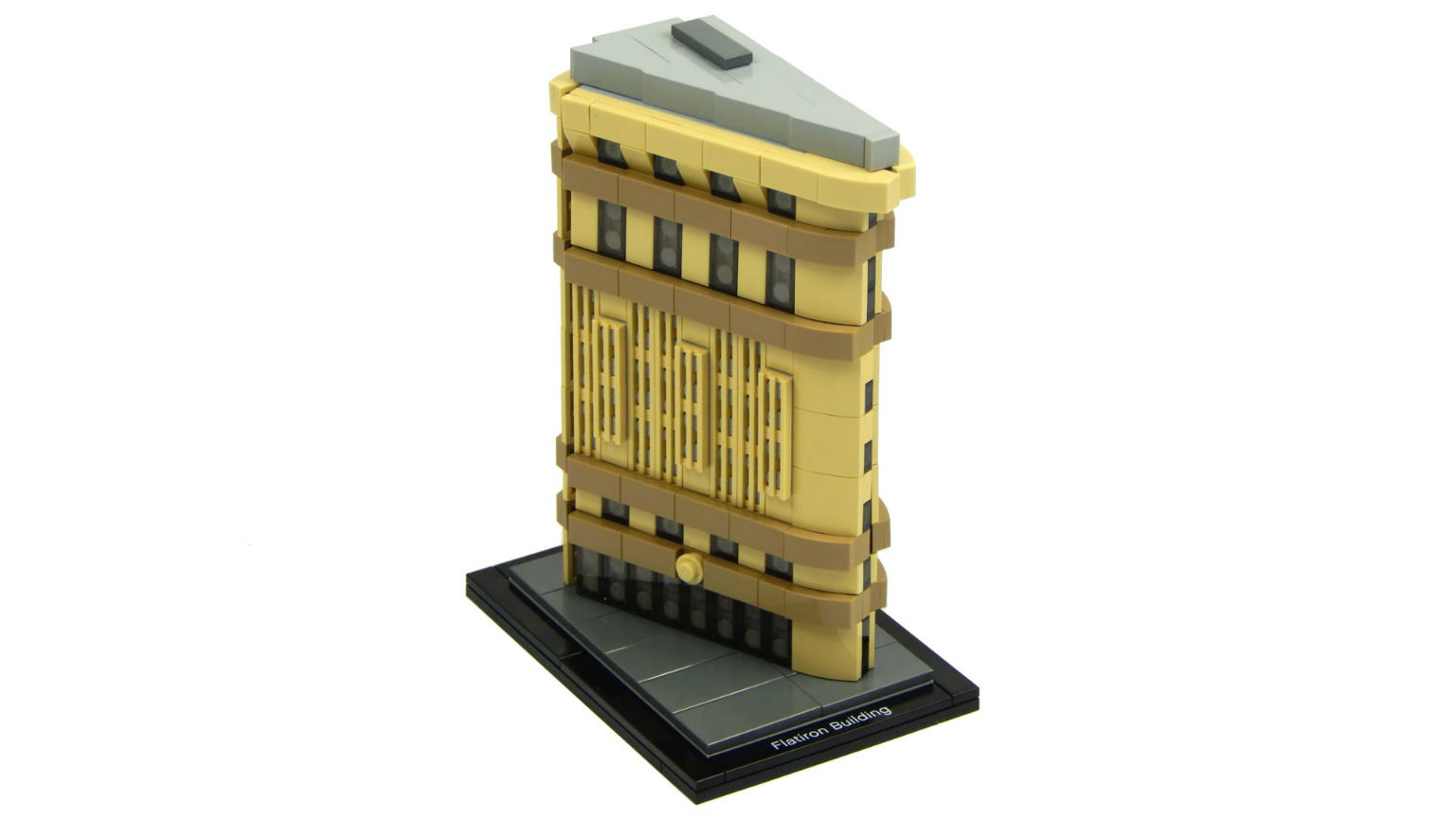 The Flatiron Building is the next model in Lego Architecture line