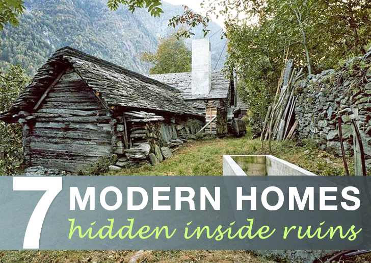 Modern Homes Hidden Inside Ruins « Inhabitat U2013 Green Design, Innovation,  Architecture, Green Building