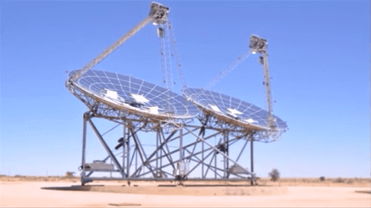 world's most efficient solar power system, africa solar power most efficient, ripasso efficient solar power system, most efficient solar concentrator