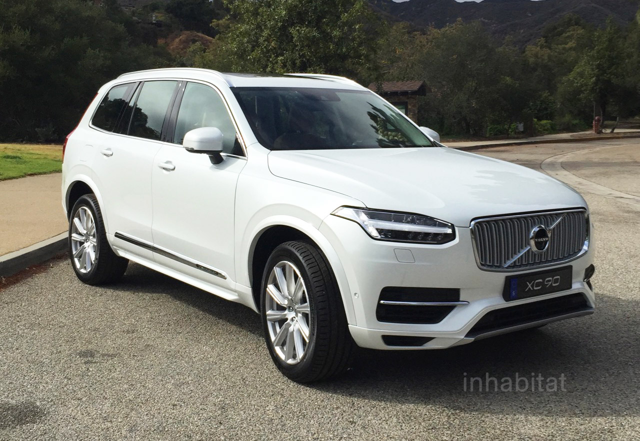 2016 Volvo Xc90 T8 Plug In Hybrid Impresses With Seven Seats And A 59 Mpge Rating