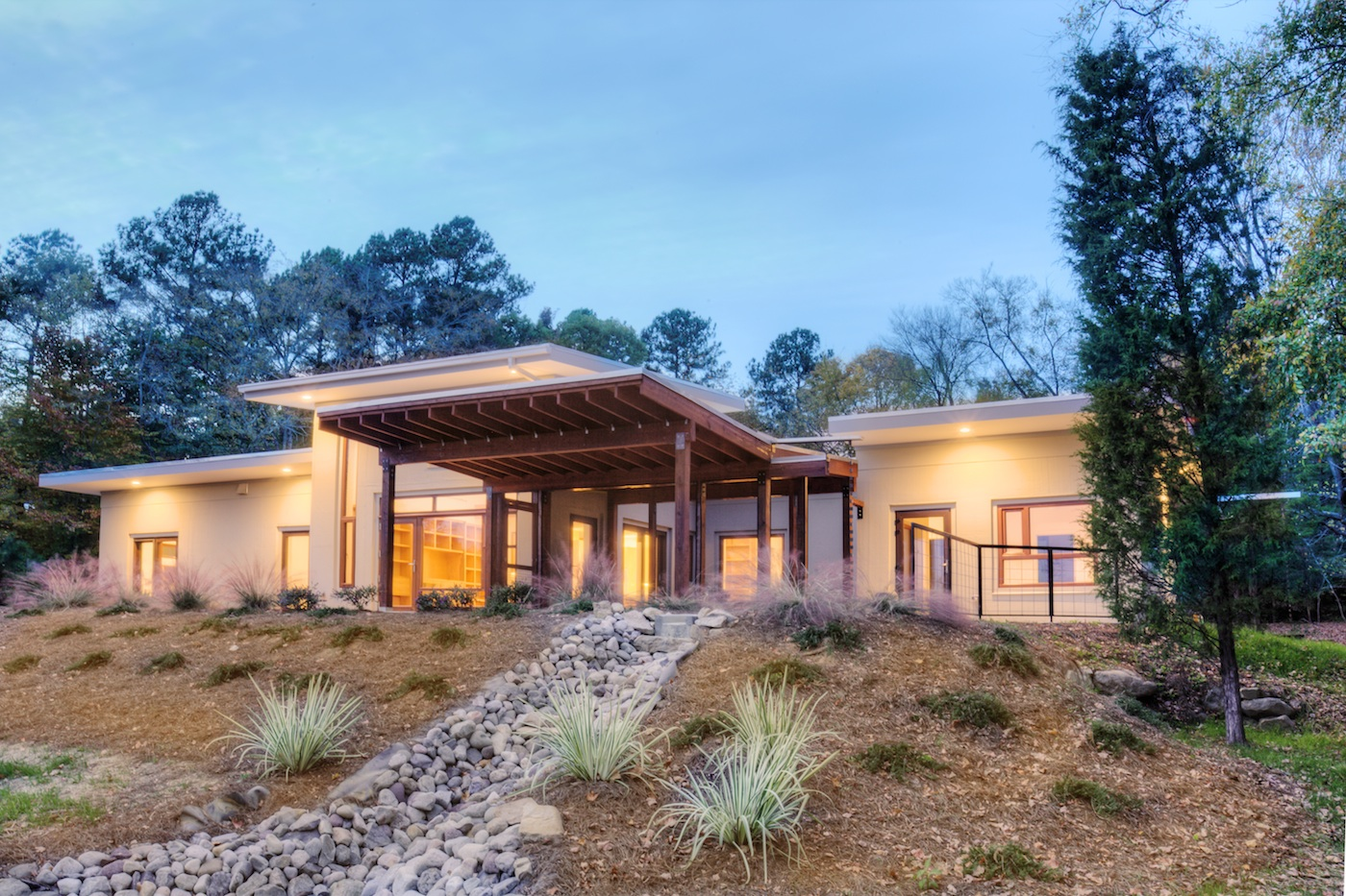 Net Zero Happy Meadow Courtyard House Is A Perfectly Passive Residence In  North Carolina