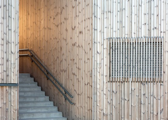 AART architects, Studio Ludo, wooden building, Waterfront, Norway, Norwegian wood, waterfront building, social spaces