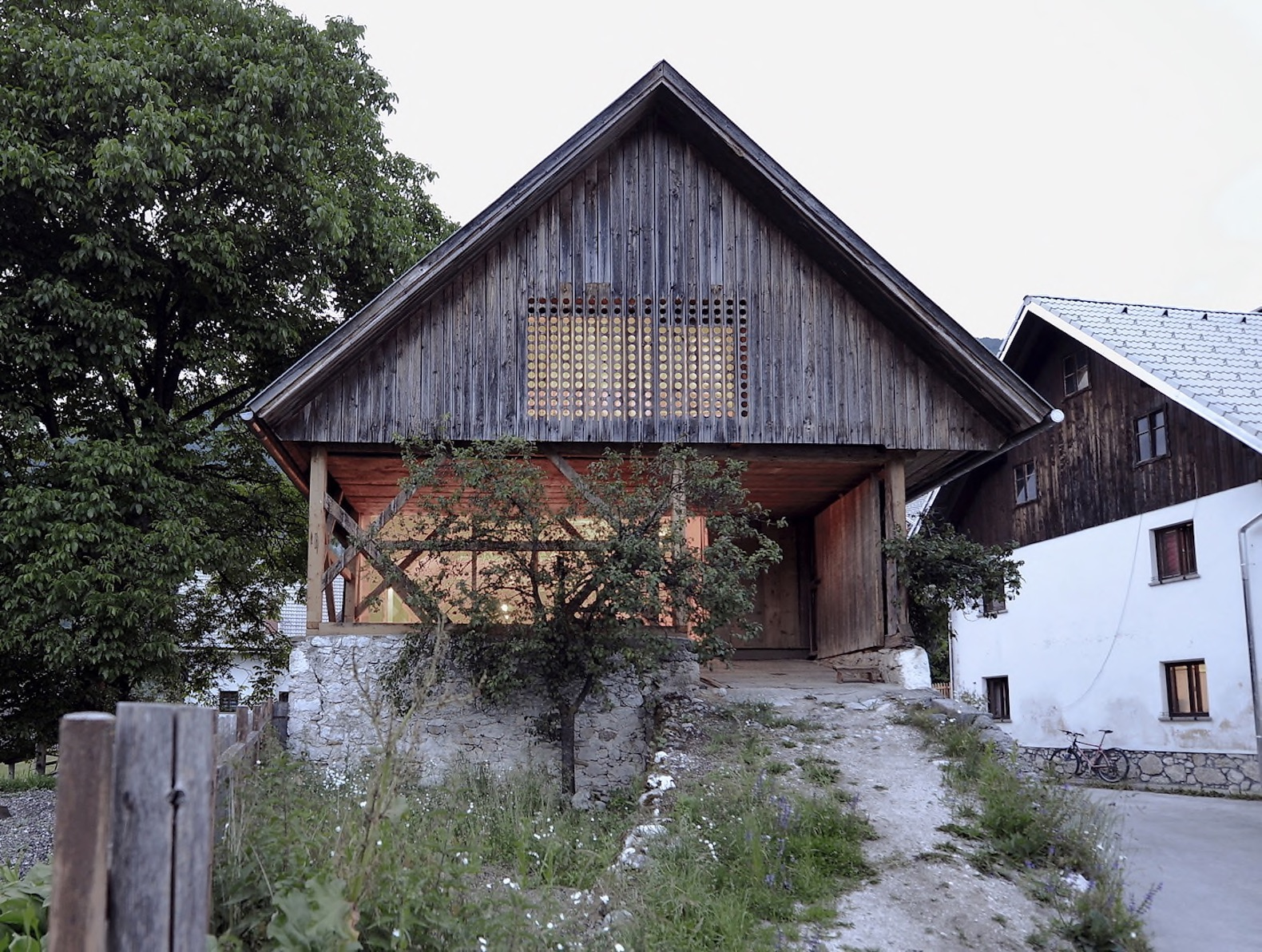 old alpine barn is revitalized into a beautiful and modern With alpine barns