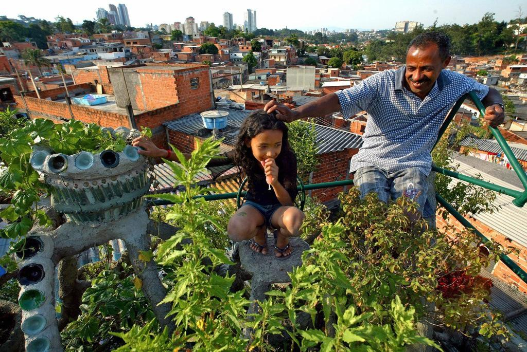 Urban farmers in São Paulo are growing food in unexpected places
