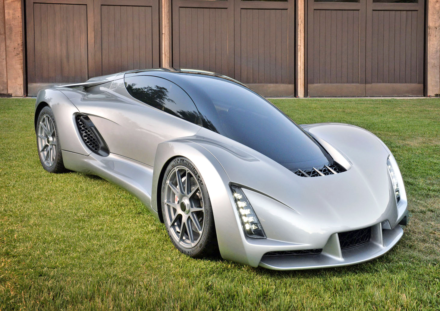 World's first 3D-printed supercar is one of the greenest cars around