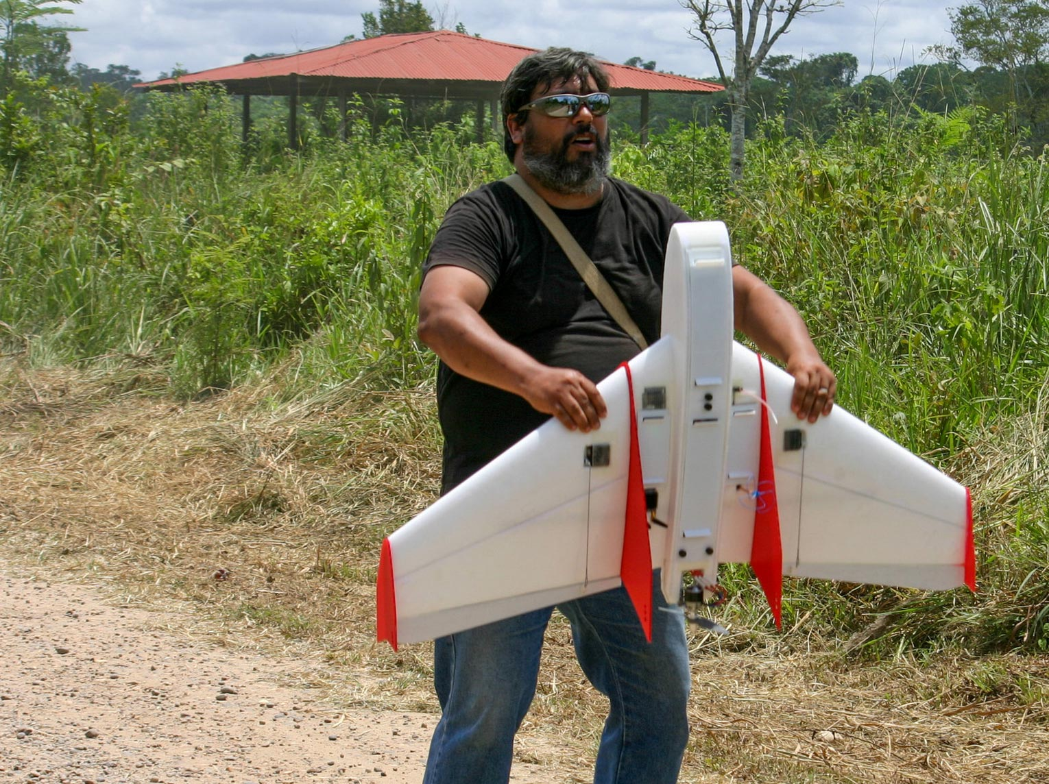 A student-designed drone is hunting illegal loggers in the Amazon Rainforest