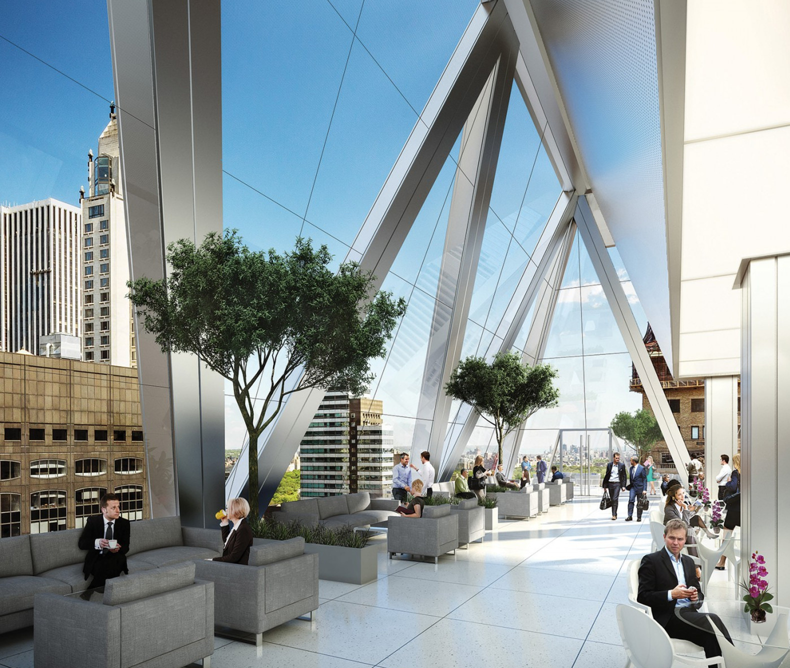 Foster Partners Breaks Ground At 425 Park Avenue Aims
