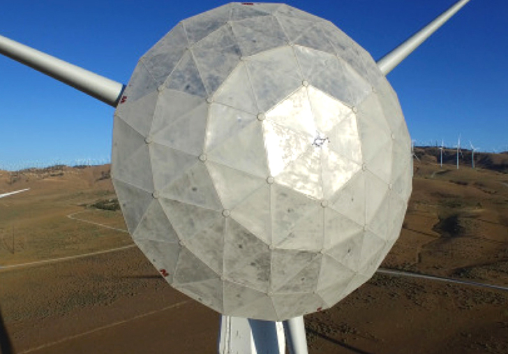 GE's new dome-shaped wind turbine generates more electricity
