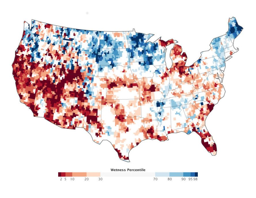 GRACE US Groundwater Map Inhabitat Green Design - Us groundwater map