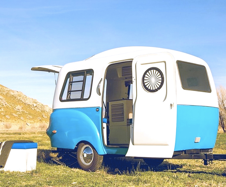 Solar Retro Modern Happier Camper HC1 Features A LEGO Like Interior