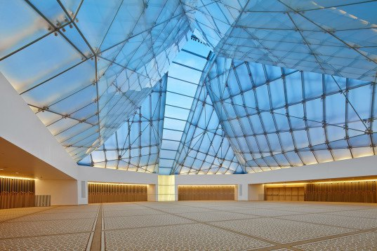 Ismaili Center In Toronto Is Topped With A Stunning