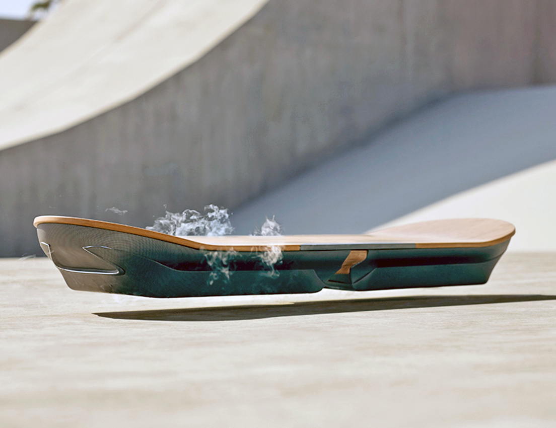 Lexus just unveiled a working hoverboard!