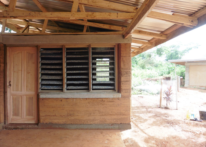 This Home In Rural Ghana Was Built From Rammed Earth And