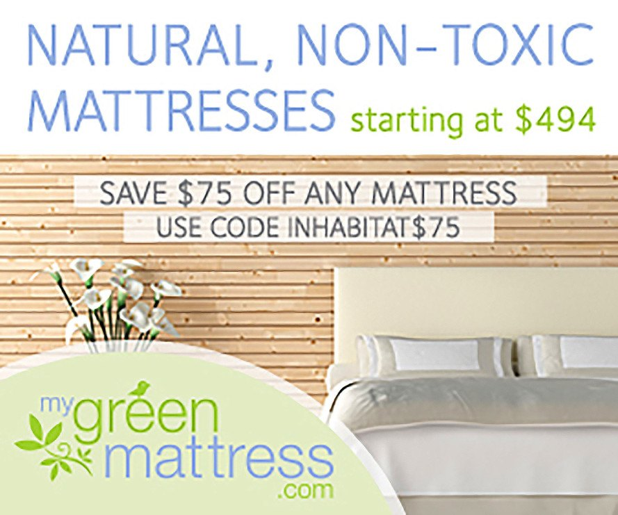 Save On Non Toxic Mattresses From My Green Mattress Inhabitat Design Innovation Architecture Building