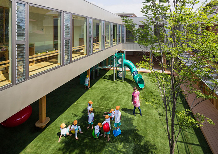 Suga Architects Unveil The Gorgeous Green Roofed Takano
