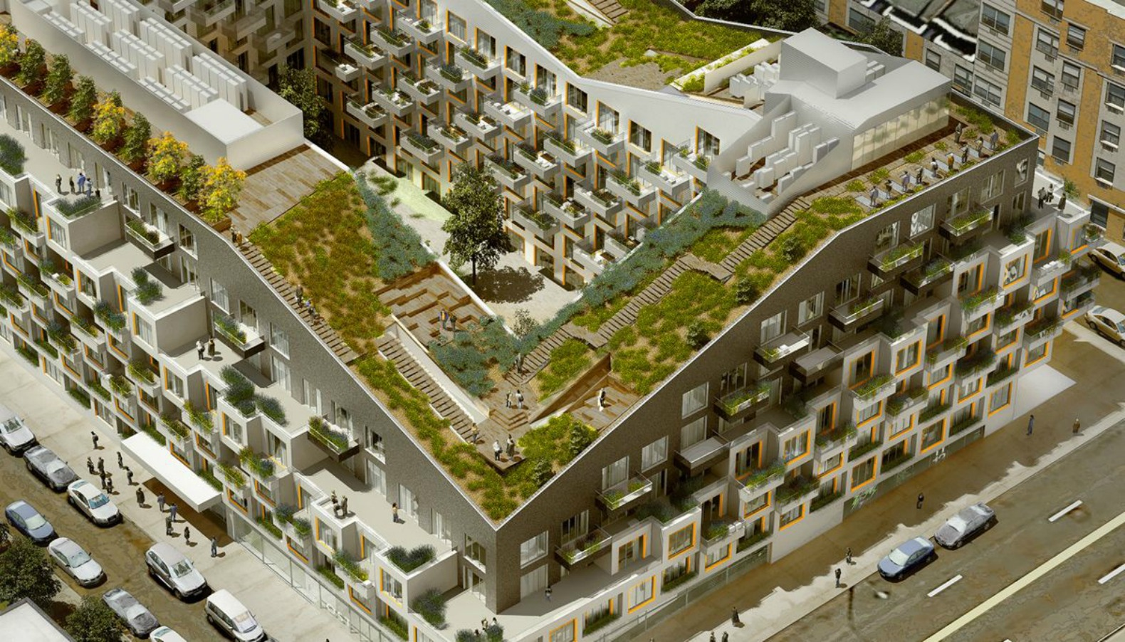 Green roofs inhabitat green design innovation for Whitespace architects careers