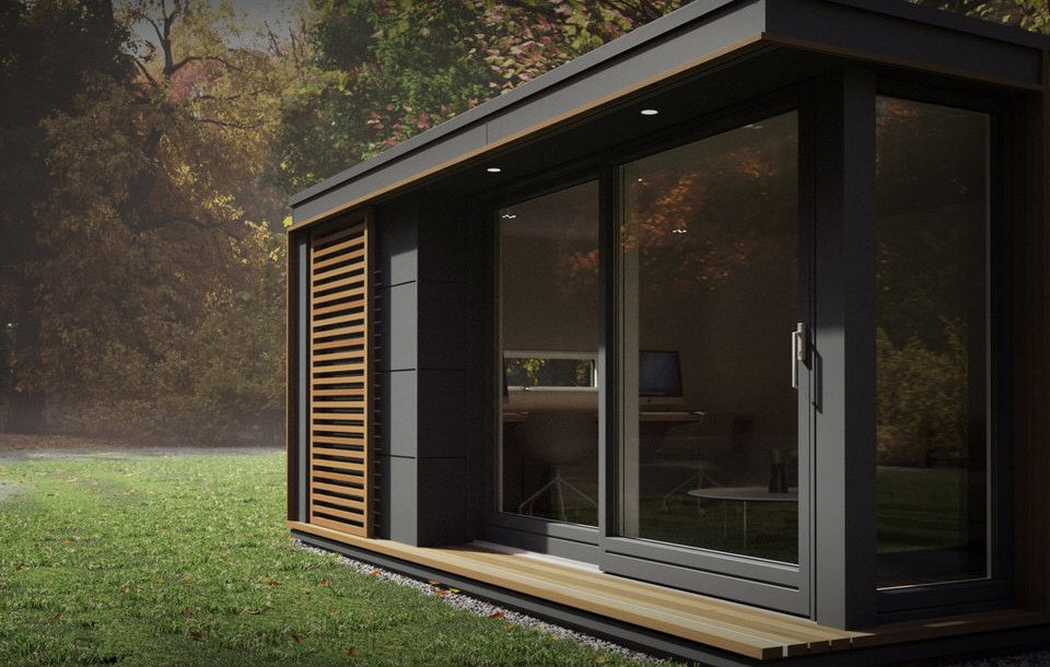 Pod Space S Pop Up Modular Spaces Can Add A Garden Studio