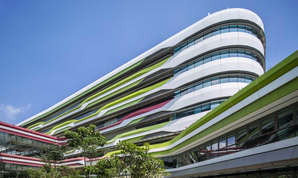 Unstudio And Dp Architects Complete Phase One Of Sustainable Singapore University Of Technology