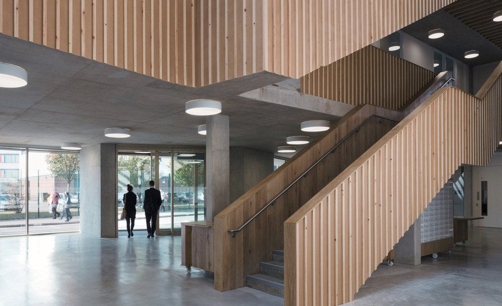 Former london shoe polish factory is repurposed into riba for The foundry architecture 00