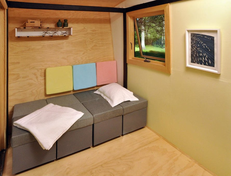 Paul Frank Bedroom In A Box: Toybox Tiny Home Frank Henderson And Paul Schultz