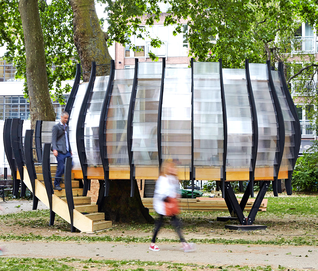 Temporary Office Space Inhabitat Green Design Innovation