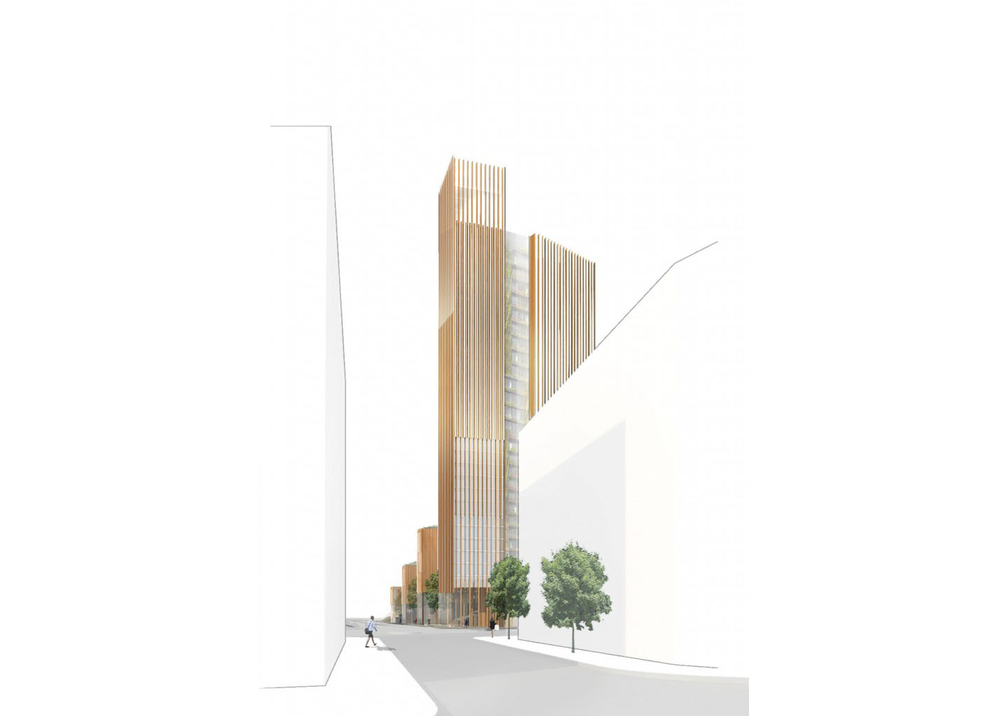 World's tallest wood building proposed in Paris could store 3,700 metric tons of carbon