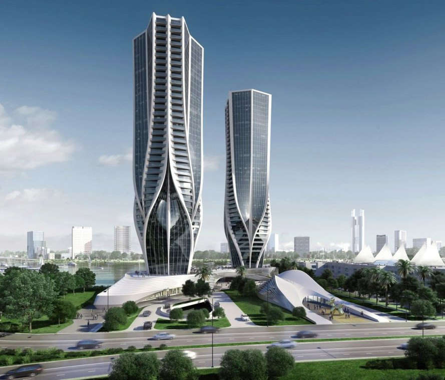 Acreage Home Design Gold Coast: Zaha Hadid Unveils Sinuous Skyscrapers For Australia's