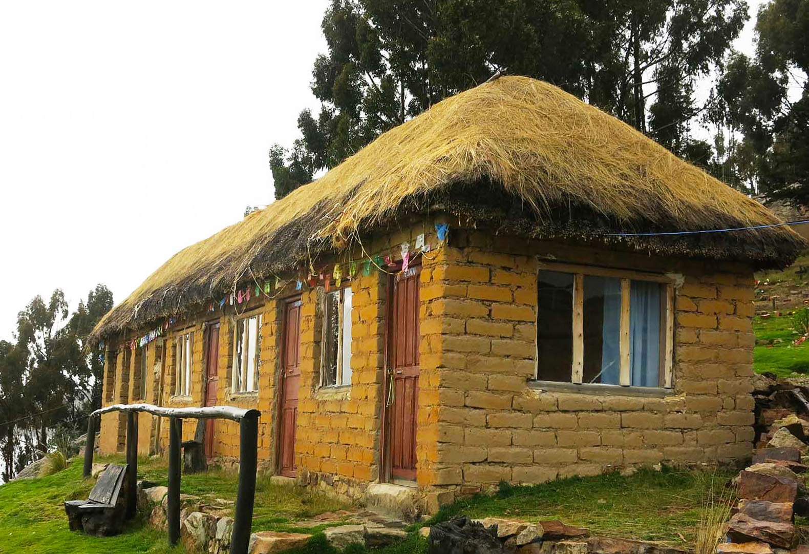 bolivias charming wiracocha offers pilgrims a thatched adobe refuge