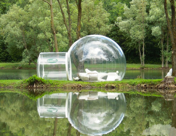 Amazing CasaBubbleu0027s Inflatable Prefab Domes Let You Enjoy 360 Degree Views Of  Nature In Comfort Great Pictures