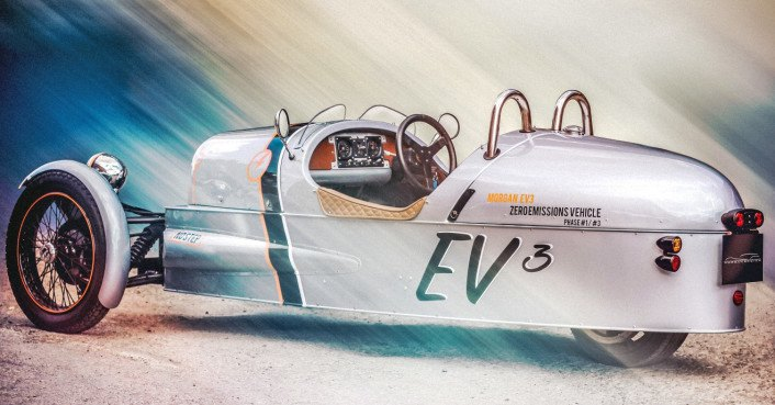 Morgan unveils all-electric 3 Wheeler with vintage charm
