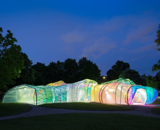 Serpentine gallery 2015, London, England, art gallery, Serpentine, Kensington Gardens, Selgas Cano,Serpentine Gallery Pavilion