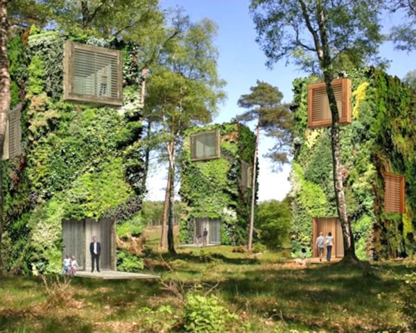 OAS1S, treescrapers, tree skyscrapers, forest-like communities, green living, green design, green architecture, living walls, vertical gardening, urban design, reader submission, architecture concepts, green living concept