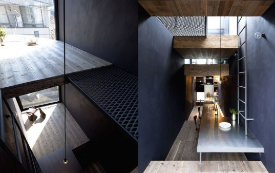 1.8m-Width House, YUUA Architects and Associates, 1.8m-Width House by YUUA Architects and Associates, skinny house, Japanese architecture, narrow house, super narrow house, minimalist architecture, skinny architecture, narrow architecture,