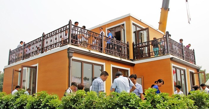 Chinese company 'builds' 3D-printed villa in less than 3 hours