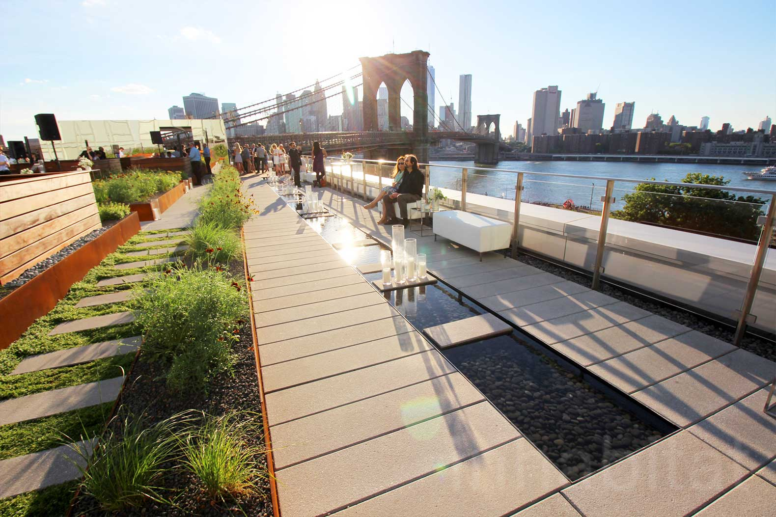 New york city roof deck design best image voixmag com for Garden city pool 2015