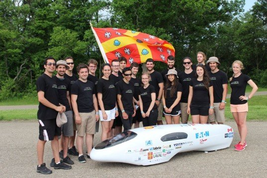supermileage, sae supermileage competition, quebec university, student design team, car 2098 mpg, most fuel efficient vehicle, energy efficient, fuel efficient