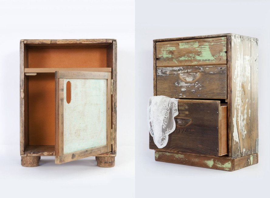 BKeeper Upcycles Unused Beehives into Furniture and Design for the Home