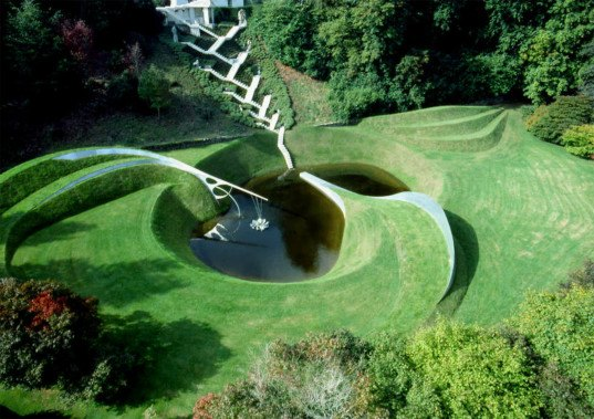 crawick multiverse, charles jencks, scotland coal mine, coal mine garden, garden of cosmic speculation, duke of buccleuch