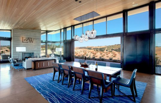 Law Winery, BAR Architects, San Francisco architects, Paso Robles, winery, vineyard house, green architecture, California