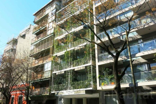 Mario Cito, LEED-seeking, Palo Santo Hotel, Buenos Aires, eco-lux accomodation, FSC wood, energy-efficient hotel, vertical garden, French restaurant, A3 lamparas, Nakina, rainwater cascade, foliage-printed vinyl