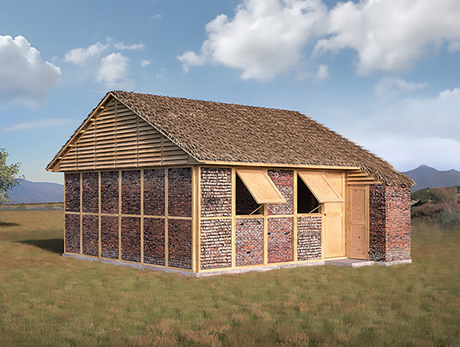 Shigeru Ban will reuse earthquake rubble to build Nepal relief shelters