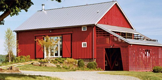 green renovation, barn conversions, green design, sustainable design, eco-design, barn conversion, barn renovation, Blackburn Architects, New River Bank Barn, Leesburg, Virginia