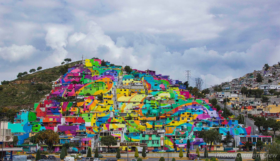 germen crew just painted 209 homes in the drug capital of mexico