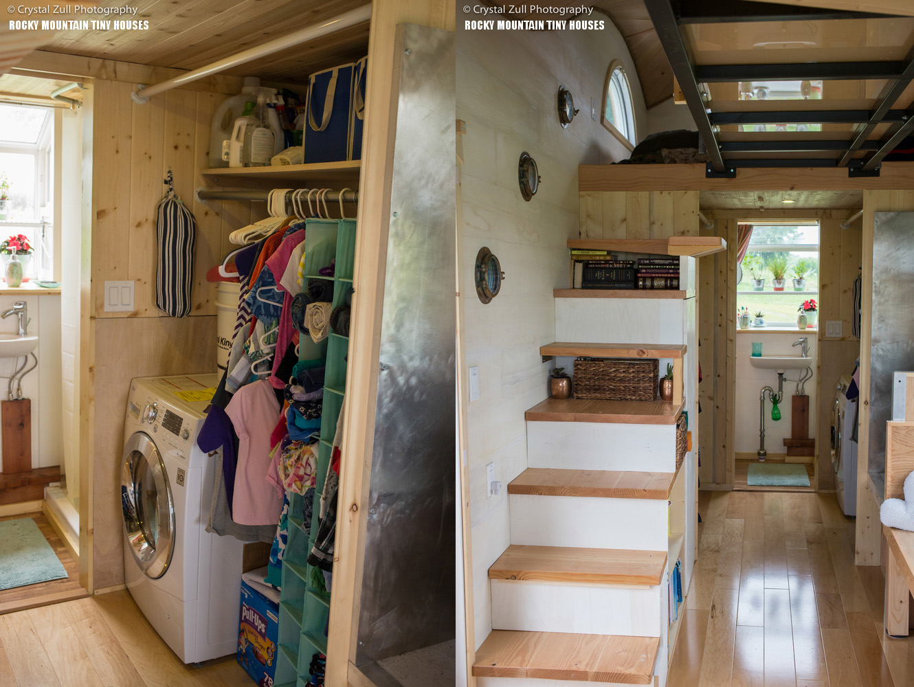 amazing wood pequod caravan comfortably fits a family of