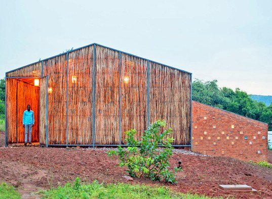 Sharon Davis Design, social housing, affordable housing, Rwanda, hospital, locally souced materials, regional materials, built by locals, Partners in Health, green architecture, eucalyptus wood, eucalyptus screens, natural materials, shared house