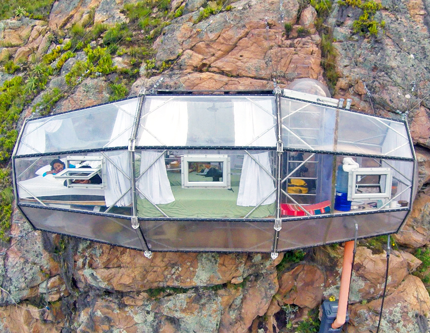 Natura Vive Skylodge Offers Sky High Accommodations To Daring Travelers In Peru