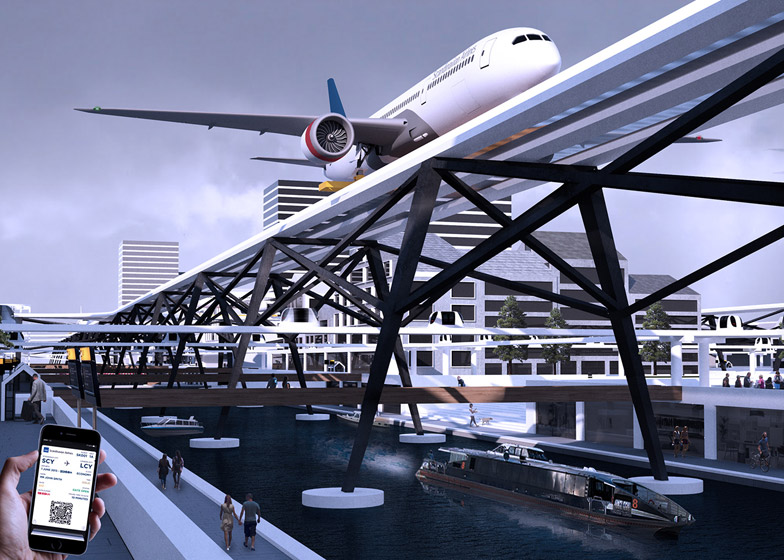 The insane plan to build an airport right above city streets