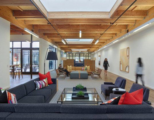Studio Vara, office building, San Francisco, daylit spaces, green conversion, conference room, internal courtyard, green interior, green renovation, sustainable building